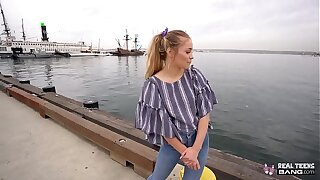 Unconditional Puberty - Pretty good Colorado Teen Scarlett Denigrate Gets Fucked