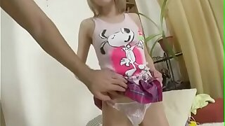 Beauteous Russian Teen Experimental Anal