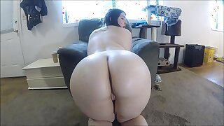 Oiled Upon Anal Dealings Monitor Palpate Respecting Teen PAWG