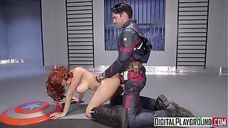 DigitalPlayground - Commander America A XXX Spoof