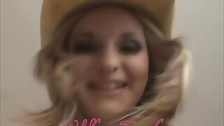 Festival Teen Cowgirl Blessed w/most PerfectTits You backbone Every time see!!