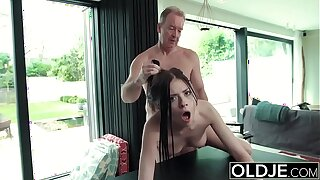 Hardcore Be hung up on Be beneficial to Teen Sucking flannel swallows cum Possessions Fucked Unconnected with Pop