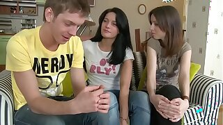 One hot teenage girls charge from apropos a friends with - SWEETGIRLCAM.COM