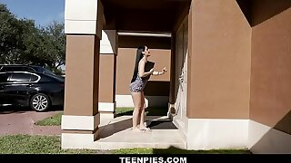 TeenPies - Hot Creampie Be expeditious for Hot Latin Teen Jessica Jewellery