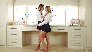 Ultra Hot Lesbians Kenna James with an increment of Mia Malkova