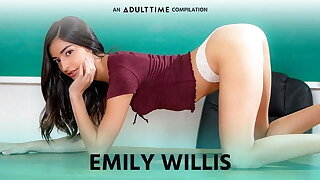 Matured Duration  Emily WIllis COMP, Creampie & Verge on Intercourse