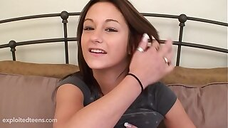 Cute Teen from Subjugated Teens Gets Creampied.