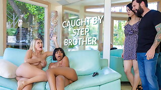 LETSDOEIT - Natalia Starr & Jenna Foxx Hot Sex In the matter of Stepbro