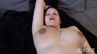 young girl gets fucked hard by her roommate - Lilly Fox