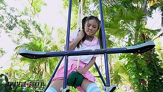 Amateur Boxxx - Asian School Girl Masturbates regarding Playground