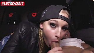 LETSDOEIT - #Scarlett Scott - Naughty German Babe Takes A Big Weasel words On The Van Fuck