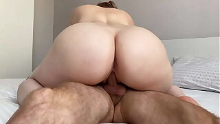 My cousin fucks me without a condom, I prosper cum in my pussy - Compilation