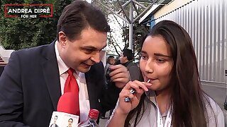 Strange video of a mexican cookie with Andrea Dipre